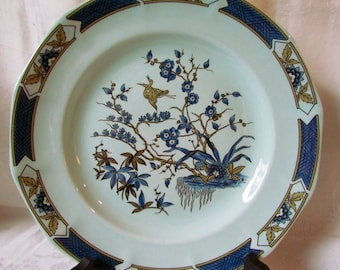 Vintage Adams Wedgwood Ming Toi Dinner Plates Lot of 4