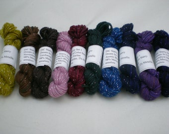 Mini Skeins - Dream in Color Starry 5 g set of 10 (set 1)