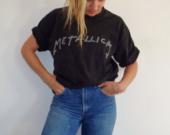 Metallica Vintage T Shirt Metal