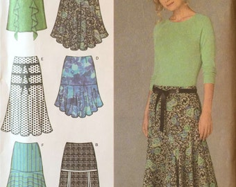 Simplicity 4753 Sewing Pattern, 14, 16, 18, 20, 22 Ladies Skirts