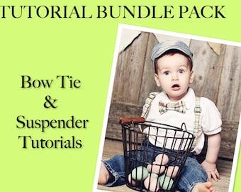 Tutorial Bundle- BOWTIE & SUSPENDER Tutorials