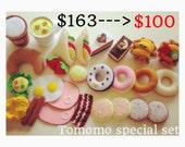 Felt food pretend felt food ULTIMATE Special gift set A