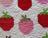 Strawberries Quilt  ****reserved for itsme776*****