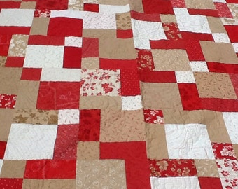 Crazy for RED Quilt