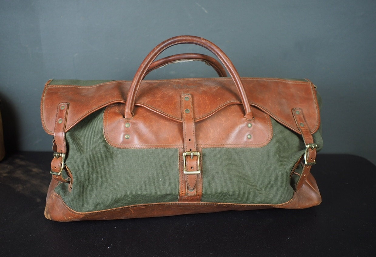 Ll bean vintage briefcase