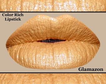 Glamazon-Metallic Gold Color Rich Lipstick