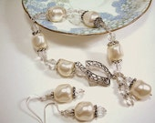 Duchess - Baroque Pearl and Sterling Silver Bracelet