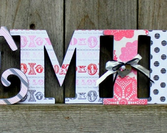 BE MINE Wood Letters