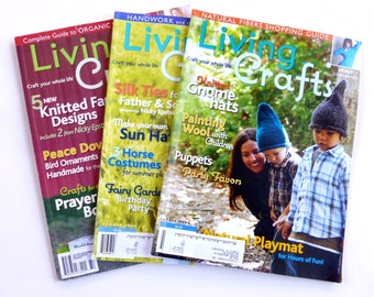 Living Crafts Magazines winter summer fall 2009