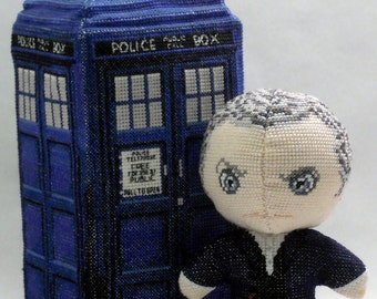 The Twelfth Doctor Doll 3D Cross Stitch Sewing Pattern PDF