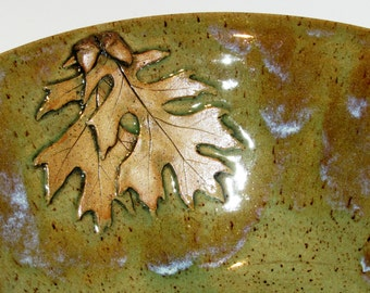 Vessel Sink with Oak Leaves and Acorns, Made To Order, custom sink, sink basin