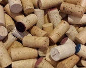 Lot of 100 Blank 100% Natural Cork USED Wine Corks-No Synthetic or Champagne Corks-Crafting-Cork Projects-Wreaths-Wedding Favors