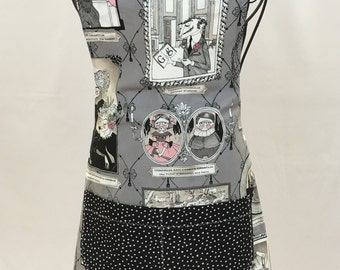 Ghastliness Family Gray Apron - Free Shipping