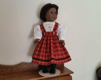 Skirt and blouse for 18 inch doll