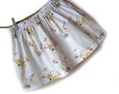 Tulip Fawn cotton skirt, little girls clothing