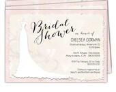 10 - Bridal Shower Invitations/Wedding Shower Invitations/Bride to be Invitations/Couples Bridal Shower Invitations