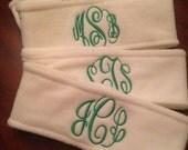 Fleece headband personalized