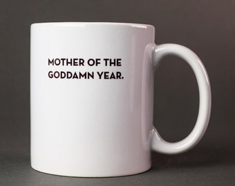 mother of the year mug. #043