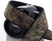 dSLR Camera Strap, Binoculars, Camo, Canon Camera Strap, Nikon Camera Strap, Mirrorless Camera, Mens Camera Strap, Green, Brown, SLR, 16 a