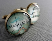 Cufflinks for Korie - Morocco and New Orleans