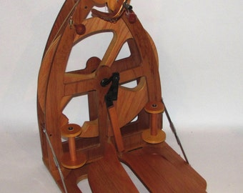 Ashford Joy Double Treadle Spinning wheel - previously owned