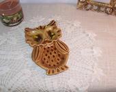 Ceramic Owl Trinket Dish/Spoon rest