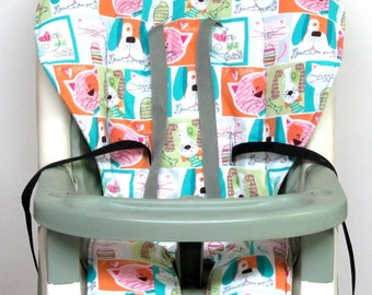high chair pad,Graco cover baby accessory, replacement cover, nursery decor, high chair cushion, kids and baby, feeding chair, dogs and cats
