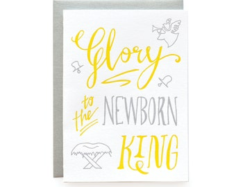Newborn King, boxed set of 6