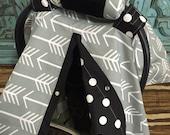 Car Seat Arm Cushion  YOU pick fabrics