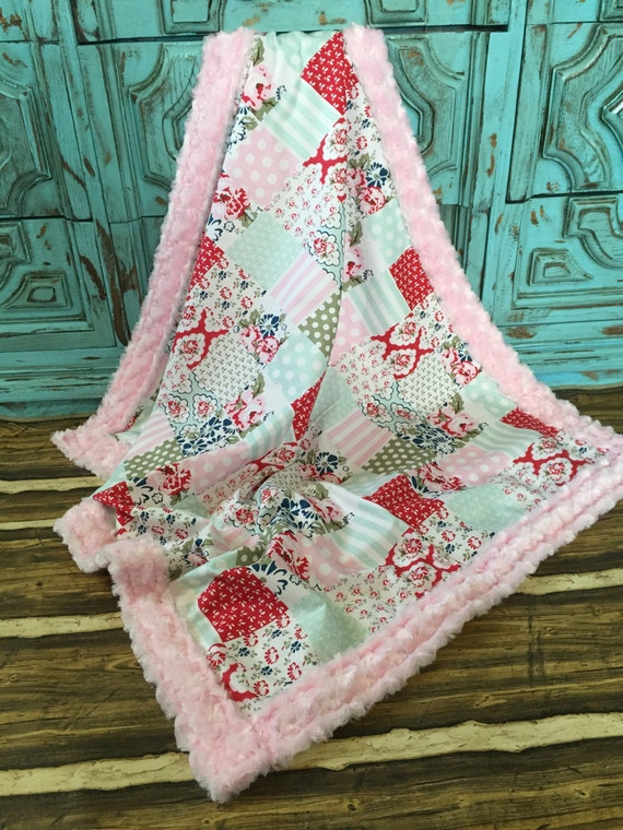Add a Custom matching Blanket to any car seat canopy