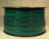 10mm Flat Leather - Dark Green - 10F-37 - Choose Your Length