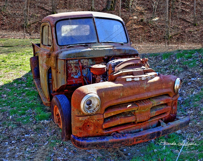 Kentucky Done Dodge Farmers Fine Art Print on Paper or Canvas
