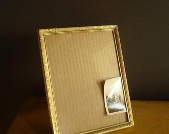 30% off SALE Simple Frame - Empty Brass Frame - Vintage Picture Frame - Unique Design