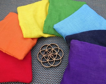 Chakra Pillows - additional support for your energetic balancing and meditation
