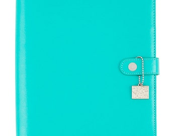 Aqua Carpe Diem A5 Planner Binder Posh (IN STOCK) Free Washi Tape with this order