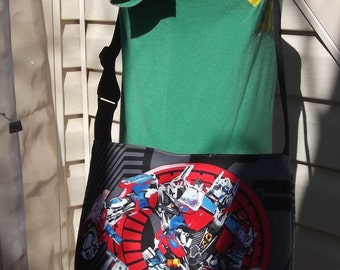 Transformer  Slouch Bag --Hasbro  Bumblebee   Optimus Prime