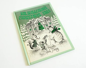 Vintage 1960s Childrens Book / Mr. Willowby's Christmas Tree by Robert Barry 1963 VGC Hc
