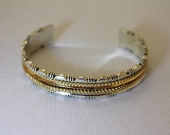 Navajo Silver Bracelet Erma Francis