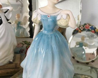 Royal Doulton Figurine Enchantment No 2178 ~ Vintage Lady Figurines ~ Victorian China ~ Made in England ~ Gift For Her ~ Collectibles