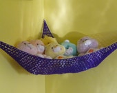 Hammock for Stuffed Animals, Purple