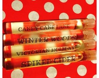 Holiday Winter Scent Sampler-Perfume Oils