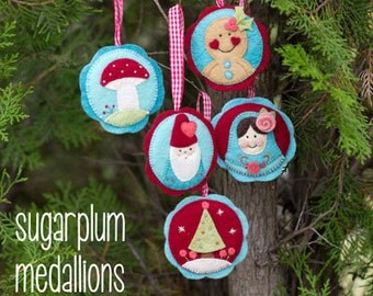 Sugar Plum Medallions Pattern