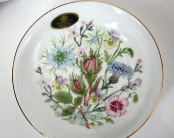 SALE Vintage AYNSLEY Wild Tudor Trinket Dish