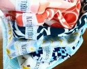 Fabric Sew-on or Iron-on Labels, Custom Printed - Brand your items with your logo!