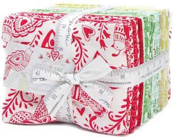 North Woods 34 Fat Quarter Bundle + 1 Panel by Kate Spain for Moda Fabrics 27240AB