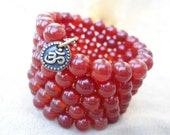 Carnelian Mala 108 Bead Mala Bracelet Om Japa Mala Red Wrap Bracelet Mediation Prayer Beads Energy Courage Motivation Health Symbolic Aum