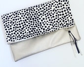 Fold Over Clutch Bag Marimekko Fabric Pirput Parput