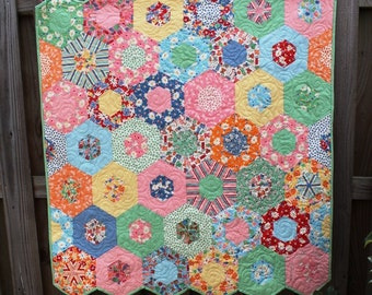 Baby Quilts for Sale,  Quilts for Girls,  Vintage Style Quilts, Nursery,  Crib Bedding Quilts, Quilts, Custom Quilts, MADE TO ORDER