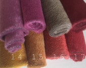 Smokey long pile mini bear fabric teddybear making supply