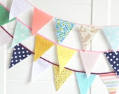Fabric Bunting Flags 9ft RESERVED